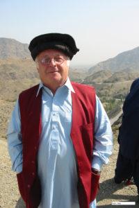 Norbert Blüm in afghanischer Landestracht