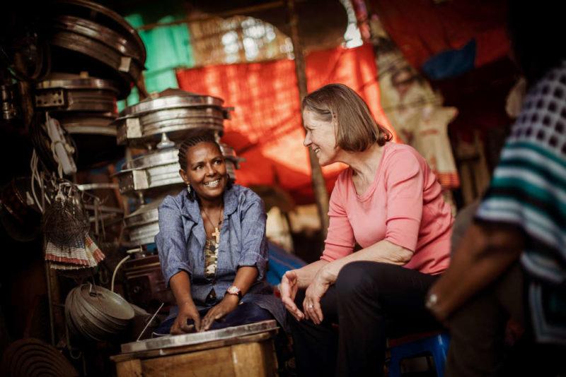 Christina Rau besuchte in Äthiopien Frauen-Selbsthilfegruppen
