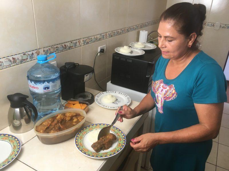Beatriz betreibt ein Catering-Unternehmen