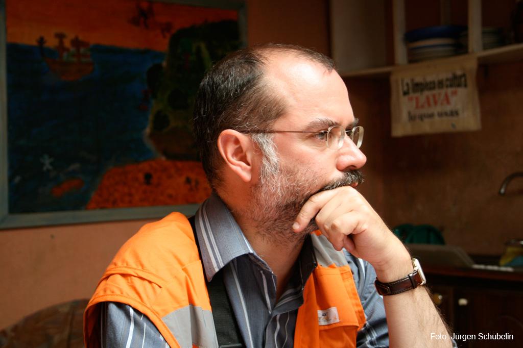 José Horacio Wood, Dirketor der Fundación ANIDE