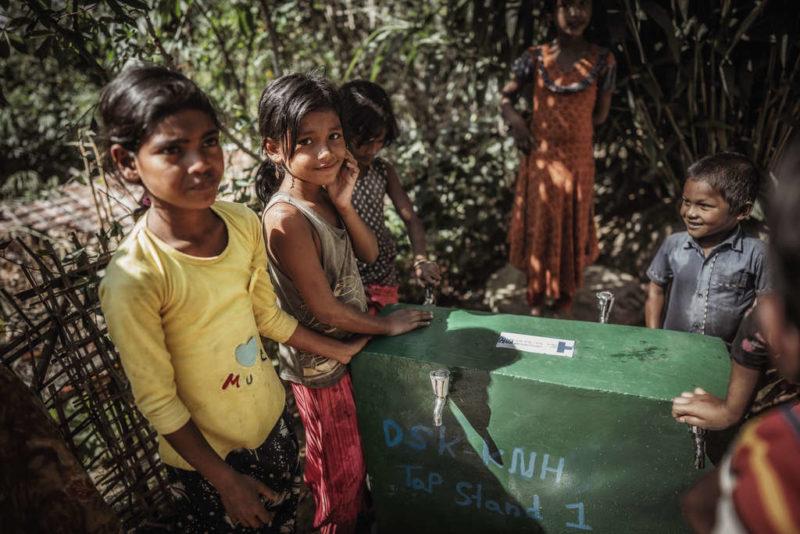 Auch ein Fall für den Sicherheitsrat: Kinder im Flüchtlingslager Cox's Bazar, Bangladesch