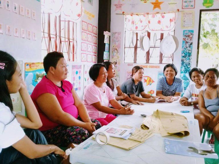 Frauen einer Selbsthilfegruppe (Quelle: Jenifer Girke)