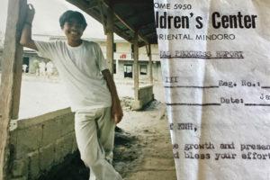 Juancho auf einem alten Foto: Während der Patenschaft ist er zu einem jungen Mann herangewachsen