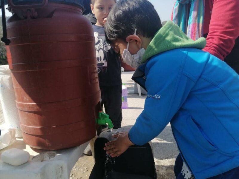 Wasser zum Händewaschen ist keine Selbstverständlichkeit. (© Kindernothilfe-Partner)